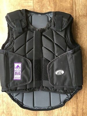 USG Eco Flexi Horse Riding Level 3 Body Protector child large/Fits small adult