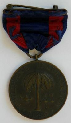 Army Philippine Campaign Medal No.18914 Arch L. Hoover 16th US Infantry Moro War