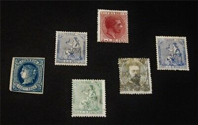 nystamps Spain Cub Stamp # 24 // 95 Mint OG H $61