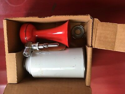 VINTAGE Falcon Air Horn Emergency Marine Safety Horn ORIGINAL BOX Stamped AMTRAK