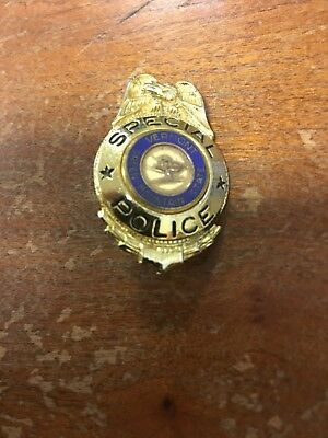 Vermont Special Police Badge Pin