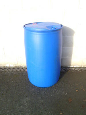 Blue Barrel Drum Approx 200L (Can Be Used For Water Butt Or Other Use)