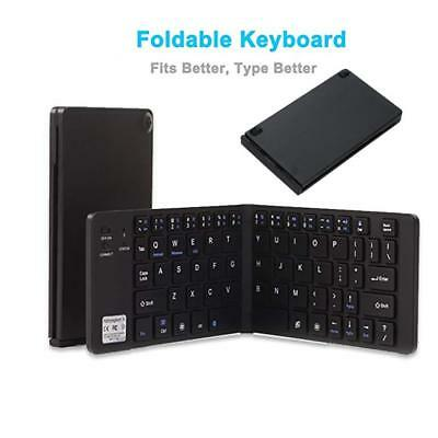 b759a6aec1b Ultrathin Portable Foldable BT Wireless Keyboard for PC Notebook Mobile  Phone US