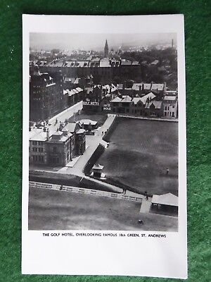 Fife.  St Andrews Golf. Aerial View of the Old Course and Town. RP.