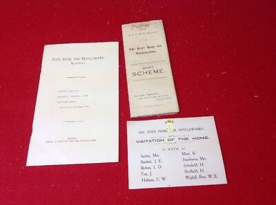 Old Yorkshire Document Beverley, Boyd Home For Gentle Woman 1925 ,Charity Care..