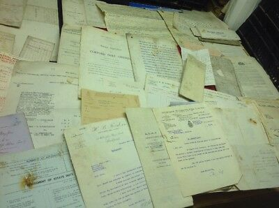 Old Cheshire Documents Stockport And Areas  DAMP DAMAGED , Buyer Beware ,!