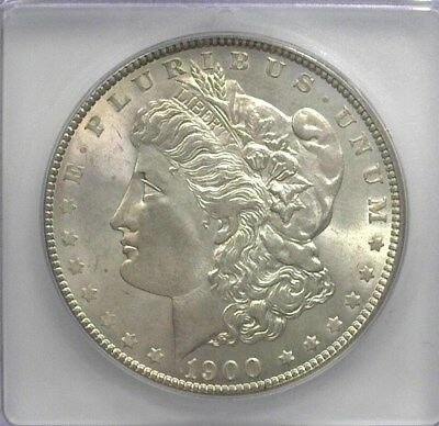 1900 Morgan Silver Dollar  Icg Ms66    Lists For $500