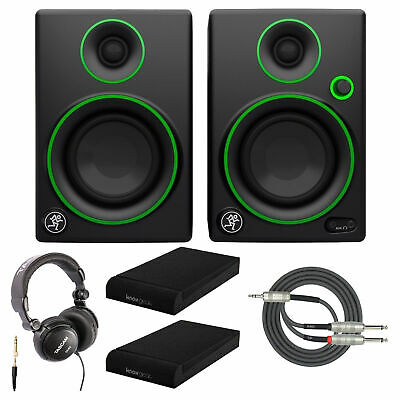 Mackie CR5BT Multimedia Monitor with Headphones and Isolation Pads