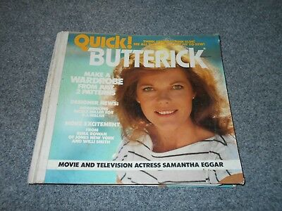 1979 Vintage Butterick 1800 Page Fashion Reference Book / 70's Marie Osmond