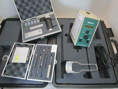Brookfield Dv-E Lvdve Viscometer W/ Ul Adapter And Lv Spindle Set