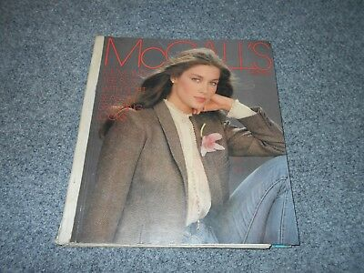 1980 Vintage Mccall's Counter Fashion Reference Book / 80's