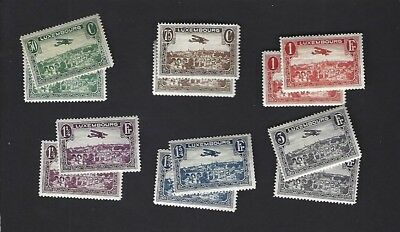 LUXEMBOURG sc#C1-6 (1931-3) COMPLETE MH  x2 SETS