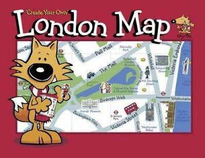 Guy Fox 'Create Your Own' London Map by Guy Fox Publishing (Sheet map,...