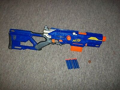 Modified Nerf Longstrike CS-6 Sniper N-Strike Elite Rifle Gun,Custom Spring