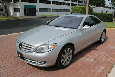 2008 Mercedes-Benz CL-Class KEYLESS GO, HEAT/VENT SEATS, NAV, PARKTRONIC, ONLY 2008 Mercedes-Benz CL-Class V8 43,761 Miles Iridium Silver Metallic 2dr Car 8 Cy