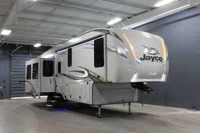 2018 Jayco Eagle Fifth Wheel  321 Rsts Rear Living