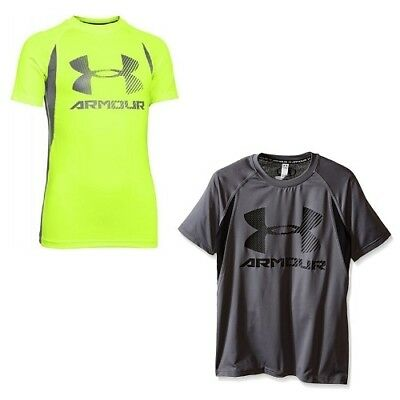 d04336c93 UNDER ARMOUR HEATGEAR Boys T-Shirts - Size 3T 4T 4 5 6 7 - New w ...