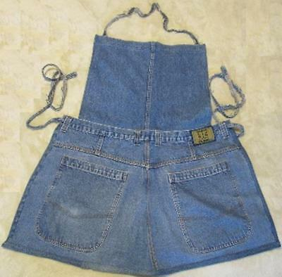 Hand Crafted Denim Jean Apron for Adults~Never Used