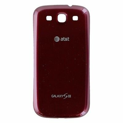 AT&T Samsung Galaxy S3 S 3 SIII i747 Battery Door Back Cover Red Replacement OEM