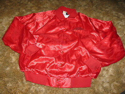 Ford Mustang COBRA red satin jacket size XXL nice