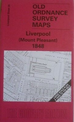 Old Ordnance Survey Maps Liverpool Mount Pleasant 1848 large scale plan New