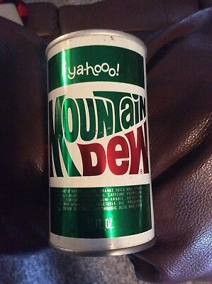 Vintage Yahoo Mountain Dew Steel Can