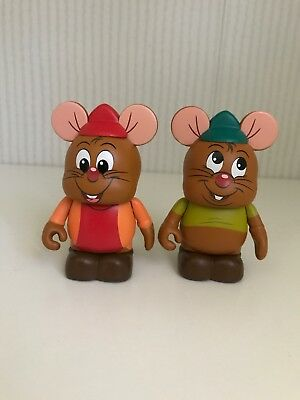 Disney Vinylmation Set Animation 4 Gus and Jacques Cinderella (LIMITED EDITION)