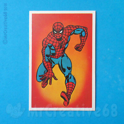 MARVEL BRONZE AGE COLLECTABLE CARD - SPIDER-MAN - Mr WIMPY- UK -1979 - Avengers