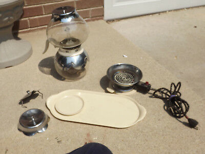 Vintage Ivory Silex Coffee Maker #SAE-12 W/ Anyheet Control