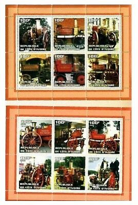 Fire Engines - Complete  Two Sheet Set -  7011-2