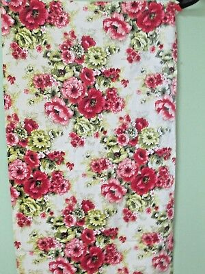 Vintage Bark Cloth Curtains  / 3 Pair / Excellent Condition/ Bold Lime And Pink