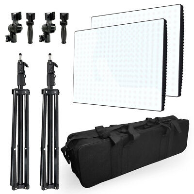 Photography Photo Video Studio Continuous Lighting Bi-Color LED Light Panels