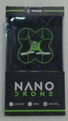 NEW Rage RC RGRNAND02 Nano Drone Quad Copter Green $40