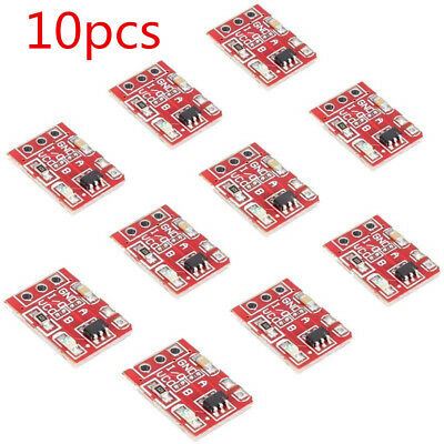 10 X  TTP223 Capacitive Touch Switch Button Self-Lock Module For Arduino l X3P0