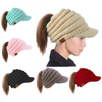 41fff6fac67 Women Hat Baggy Warm Crochet Winter Wool Knit Ski Beanie Skull Slouchy Caps  Best