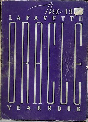 1938 Lafayette High School Buffalo NY Yearbook - ORACLE / Photos / Sports