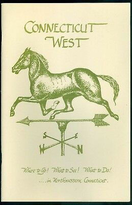 Connecticut West Visitor's Guide Information Booklet 1980