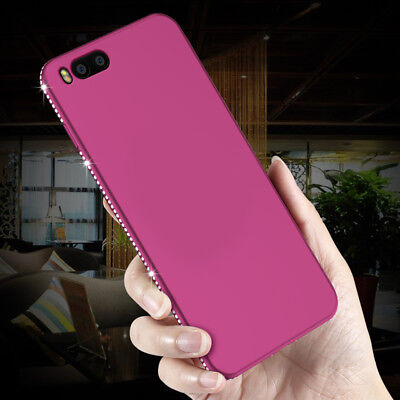 Luxury Bling Crystal Diamond Soft Slim Case Cover For Xiaomi A1 Redmi Note 5 Pro
