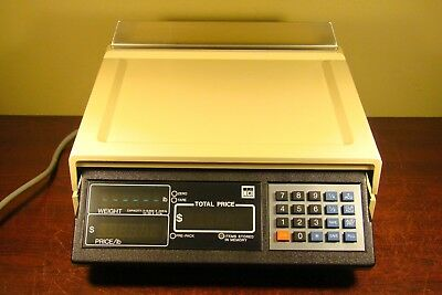 NCI 3200 WEIGHT WEIGHING SCALE DELI RESTAURANT COMMERCIAL National Controls Inc