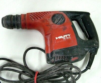 HILTI TE 16-C 3 Mode 800w Rotary Hammer Drill 240v MADE IN GERMANY - DRILL ONLY