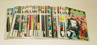 % 1990's Marvel The Punisher  Comic Book Collection Lot V-27
