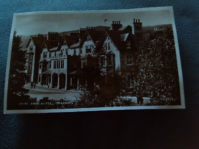 Postcard R/P Fife Arms Hotel,Braemar.No.B.3994.Very good condition.Unposted.