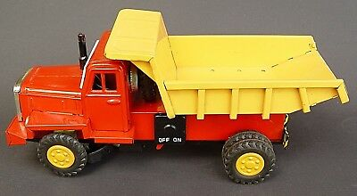 Asahi, Made In Japan Dump Truck, Battery Operated, Mit Ovp