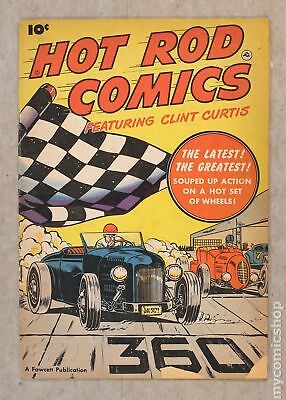 Hot Rod Comics (U.S. Edition) #1 1951 GD/VG 3.0