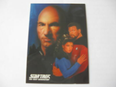 Star Trek  The Next Generation Portfolio Prints Series 2  Promo Card P1