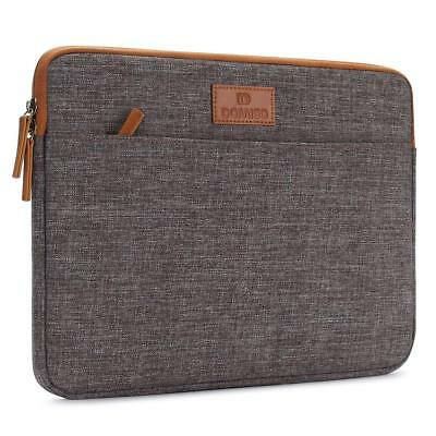 DOMISO 13.3Zoll Laptophülle Hülle Tasche Sleeve Case Etui Notebook Canvas Gewebe