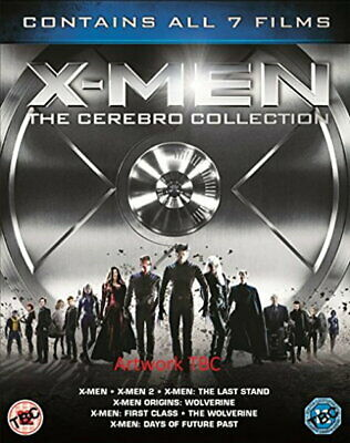 X-Men - The Cerebro Collection (7 Films Box Set) [New Blu-ray]