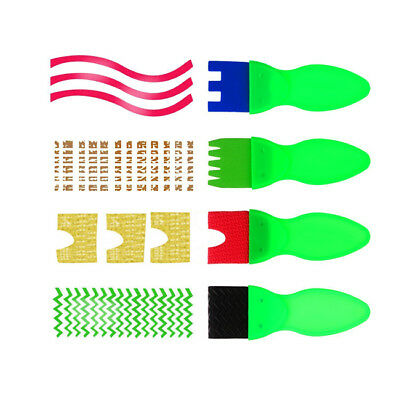 4pcs Painting Brushes DIY Tools Painting Rollers Learning Toys for Children Z