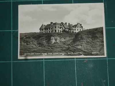 North Berwick, Tantallon Guest House. 1954 Posted Postcard