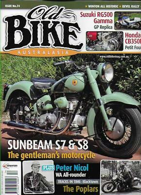 OLD BIKE AUSTRALASIA No.74 (NEW COPY) *Post included to UK/Europe/USA/Canada